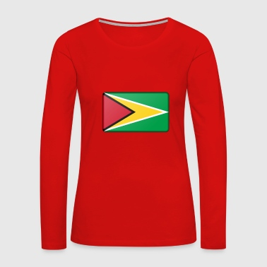 Guyana Flag - Women's Premium Long Sleeve T-Shirt