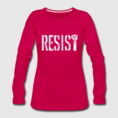 RESIST - Women's Premium Long Sleeve T-Shirt