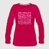Count Your Blessings (dark) - Women's Premium Long Sleeve T-Shirt