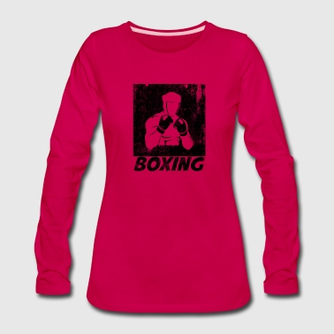 Fist Boxing - Women's Premium Long Sleeve T-Shirt