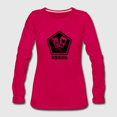 Boxing Gloves Boxing - Women's Premium Long Sleeve T-Shirt