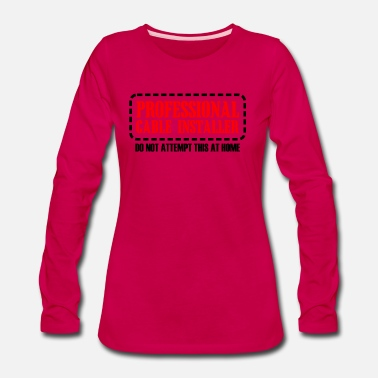 Provocation Pro cable installer - Women's Premium Long Sleeve T-Shirt