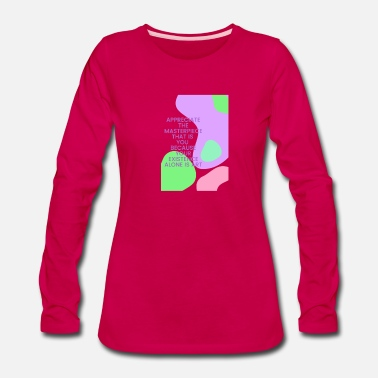 Piece of art - Women's Premium Longsleeve Shirt