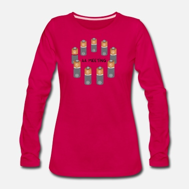 Meeting AA meeting - Women's Premium Long Sleeve T-Shirt