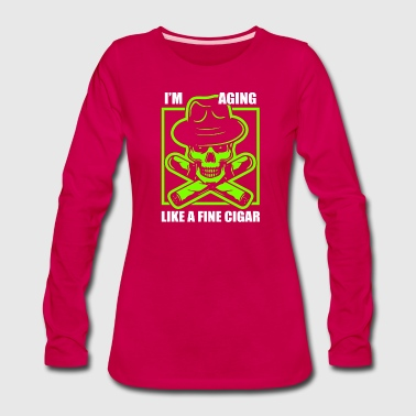 Freedom Cigarette - Women's Premium Long Sleeve T-Shirt