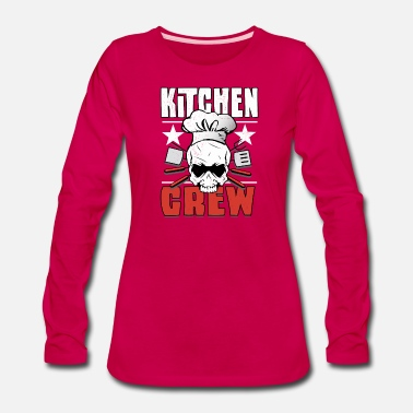 Recipe Being a Chef is cooking awesome - Women's Premium Longsleeve Shirt