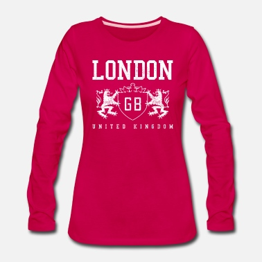 Souvenir London - Women's Premium Long Sleeve T-Shirt