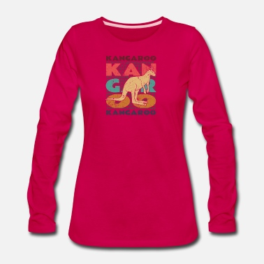 Bounce Kangaroo - Women's Premium Long Sleeve T-Shirt