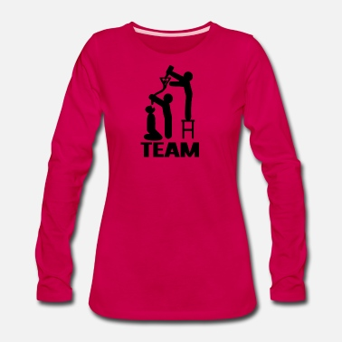 Drink Team drink drink drink team - Women's Premium Long Sleeve T-Shirt