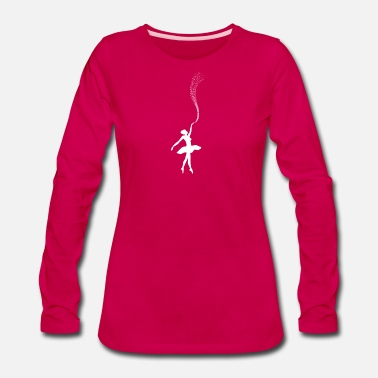 Suit Ballet Dancing Ballerina Tutu Gift Shirt Dance - Women's Premium Long Sleeve T-Shirt