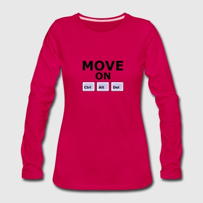 MOVE ON - Women's Premium Long Sleeve T-Shirt