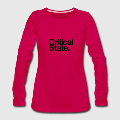 Critical State Merchandise - Women's Premium Long Sleeve T-Shirt
