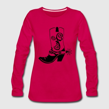 KL linedance45a - Women's Premium Long Sleeve T-Shirt