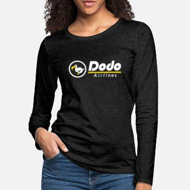 Animal dodo airlines / logo / animal crossing - Women's Premium Longsleeve Shirt