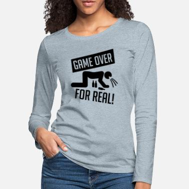 game_over_for_real_va1 - Women's Premium Longsleeve Shirt