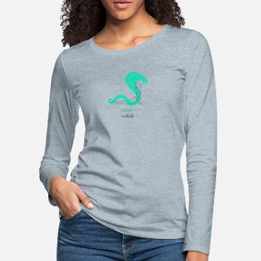Inhale Exhale - Women's Premium Longsleeve Shirt