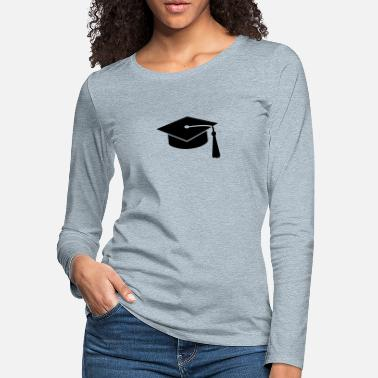 Freedom graduation hat v2 - Women's Premium Longsleeve Shirt