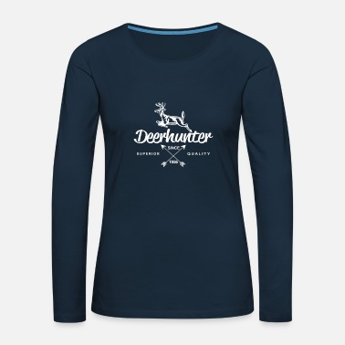 Deer Hunter Deer hunter Shirt Design - Women's Premium Longsleeve Shirt