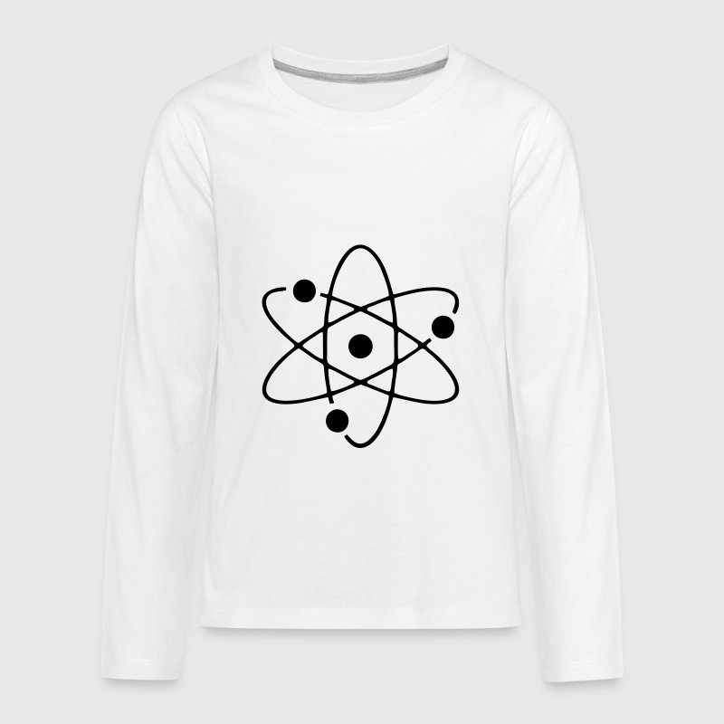 Atom, science - Kids' Premium Long Sleeve T-Shirt