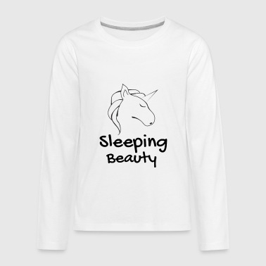 Sleeping Beauty / Schlafende Schönheit - Kids' Premium Long Sleeve T-Shirt
