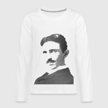 Nikola Tesla - Kids' Premium Long Sleeve T-Shirt