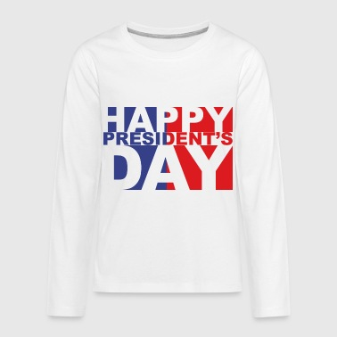 president day 2018 February - Kids' Premium Long Sleeve T-Shirt