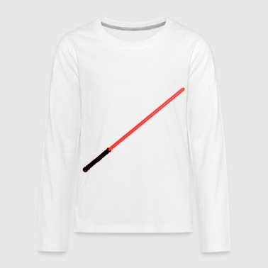 Red Lightsaber - Kids' Premium Long Sleeve T-Shirt