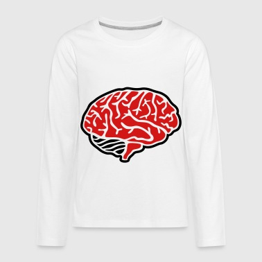 Brain - Kids' Premium Long Sleeve T-Shirt