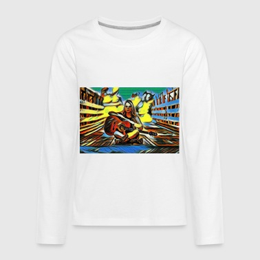 guitarist - Kids' Premium Long Sleeve T-Shirt