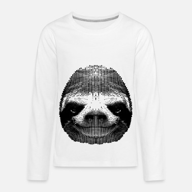 Sloth Kids Sloth - Kids' Premium Long Sleeve T-Shirt