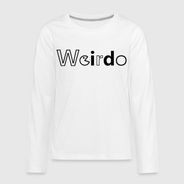 Weirdo Id - Kids' Premium Long Sleeve T-Shirt