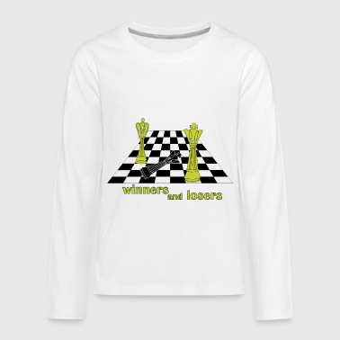 winner and loser . This is play - Kids' Premium Long Sleeve T-Shirt