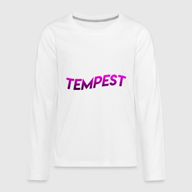FIRE TEMPEST MERCH! - Kids' Premium Long Sleeve T-Shirt
