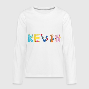 Kevin - Kids' Premium Long Sleeve T-Shirt