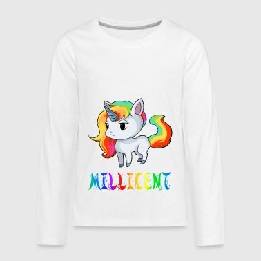 Millicent Unicorn - Kids' Premium Long Sleeve T-Shirt