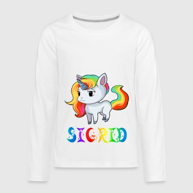 Sigrid Unicorn - Kids' Premium Long Sleeve T-Shirt