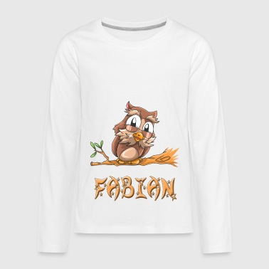 Fabian Fabian Owl - Kids' Premium Long Sleeve T-Shirt