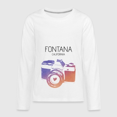 Fontana Camera Fontana - Kids' Premium Long Sleeve T-Shirt