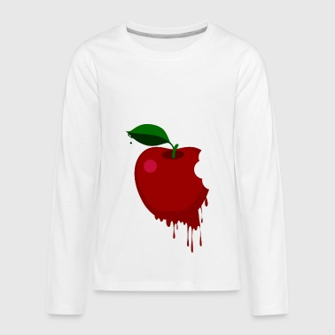 Melt Banana Melted red apple - Kids' Premium Long Sleeve T-Shirt