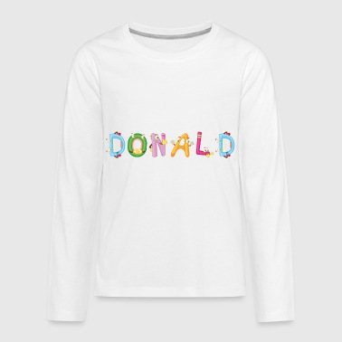 Donald - Kids' Premium Long Sleeve T-Shirt
