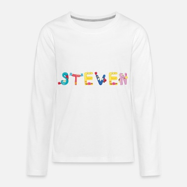Steven Steven - Kids' Premium Long Sleeve T-Shirt