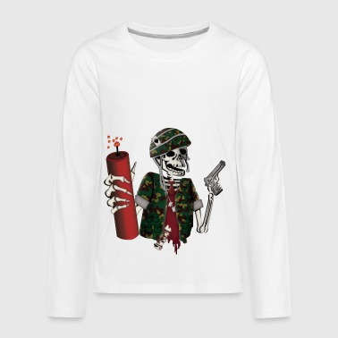 Explosion Explosive Ordnance Disposal - Kids' Premium Long Sleeve T-Shirt