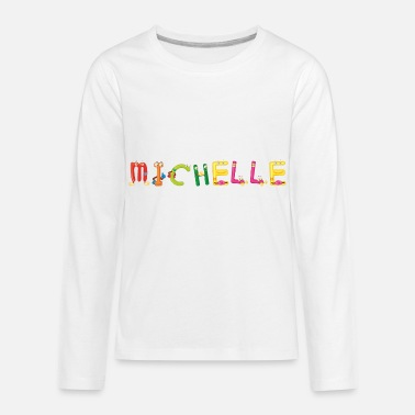 Michelle Michelle - Kids' Premium Long Sleeve T-Shirt