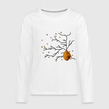 Honey Bees - Kids' Premium Long Sleeve T-Shirt