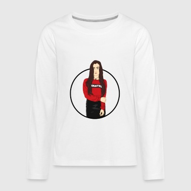 Camila Cabello Logo Art - Kids' Premium Long Sleeve T-Shirt