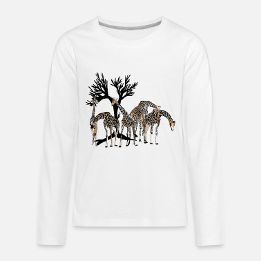 Giraffe Giraffe - Kids' Premium Long Sleeve T-Shirt