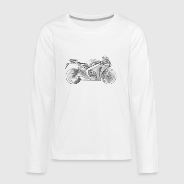 motorcycle - Kids' Premium Long Sleeve T-Shirt