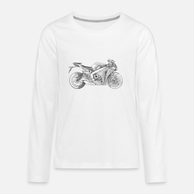 Triumph motorcycle - Kids' Premium Long Sleeve T-Shirt