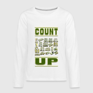 Count Royal Count Up - Kids' Premium Long Sleeve T-Shirt