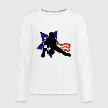 American Pride - Kids' Premium Long Sleeve T-Shirt